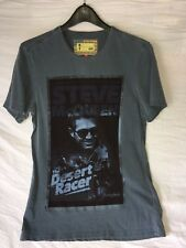 Barbour UK Steve McQueen The Desert Racer T-Shirt NEW Unworn