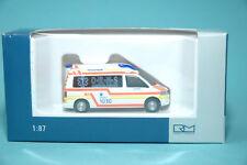 Rietze 51868 VW T5 Servicio de Salvamento Münchberg O-R-M-S Ambulancia Ho 1:87