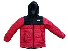 The NORTH FACE Boy's Red Mount Chimborazo Reversible Jacket Fleece Size M 10-12