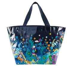 Vera Bradley *MIDNIGHT BLUES* Large Market Tote Beach Shopping Gift Bag *NWT*