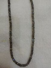 """100% Natural Labradorite  3.5-4MM MICRO Faceted Loose Beads 13"""" Inches AAA+"""