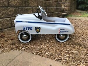 NYPD Police Pedal Car 1992