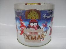 Panettone, italienischer Frühstückskuchen, Geschenkdose Merry Christmas 1000 g