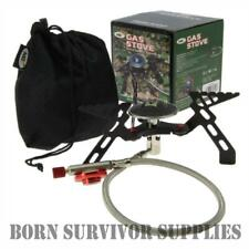 NGT HIGH OUTPUT GAS STOVE - Folding Compact Portable Camping Fishing Bushcraft