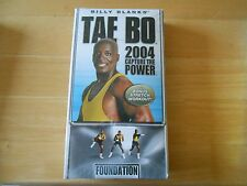 VHS BILLY BLANKS TAE BO 2004 FOUNDATION in Wrapper!