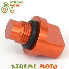 CNC Billet Engine Oil Drain Plug Bolt Screw for KTM 125 200 390 DUKE All Years