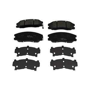 For Chevrolet Captiva C100 C140 2.4 LPG Eurobrake Front Disc Brake Pads Set