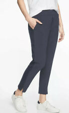ATHLETA Brooklyn Ankle Lightweight Travel Pant  Navy Women Size 6P NWT