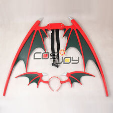 Vampire Darkstalker Morrigan Aensland Wings and Headband Cosplay Prop -1185