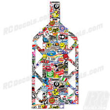 HPI BAJA 5B SS 5T 5SC Chassis Plate Protector - Sticker Bomb 11247