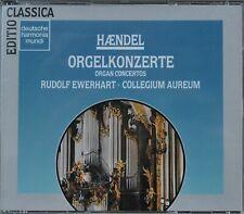 """3 CD HÄNDEL – """"Orgelkonzerte""""  Rudolf Ewerhart * Collegium Aureum SUPER!"""