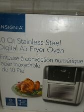 Insignia Air Fryer Oven - 9.46L/10Qt - Stainless Steel (Ns-Afo6Dss1) (Desu)