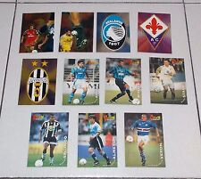 11 CARDS album CALCIO 98 CARDS Panini  figurine stickers 1997-1998 Juventus