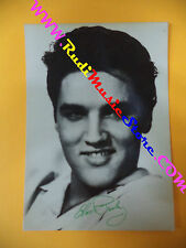 CARTOLINA PROMOZIONALE POSTCARD ELVIS PRESLEY 1985 10x15 cm no *cd dvd lp mc vhs