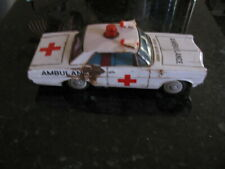Vintage Bandai Made in Japan Ford Galaxy Ambulance Ratty Looking
