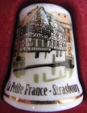 Dé à coudre Petite France Strasbourg Thimble Fingerhut #21