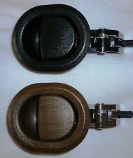 2 x Recliner CUP Handles, Lever, trigger style - BLACK OR BROWN - AUSSIE SELLER