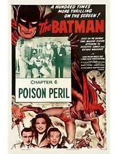 BATMAN * LEWIS WILSON & DOUGLAS CROFT * COLUMBIA serial 1S 11x14 print R-54