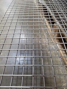 """Stainless Steel 304 Welded Mesh 3/4"""" x 3/4"""" 8' x 4' Sheets 3mm Wire Diameter"""