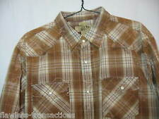 BUCKLE BKE Contour Fit Western Shirt Men's Size XXL Pearl Snaps Long Sleeve NEW