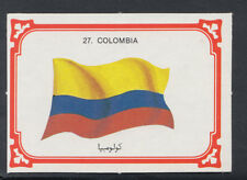 Monty Gum 1980 Flags Cards - Card No 27 - Colombia (T610)