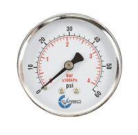 "Lower Mnt Chrome Plate Steel Case 1-1//2/"" Pressure Gauge 200 PSI 1//8/""NPT"
