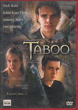 TABOO - JEWEL BOX . DVD NUOVO
