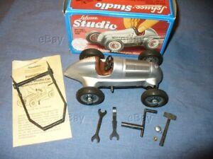 SCHUCO STUDIO 1050 MERCEDES GRAND PRIX 1936 RACE CAR TOY NMIB WESTERN GERMANY BX