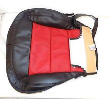 NOS 2012 CORVETTE RH PASSENGER SEAT BOTTOM COVER BLACK/RED W/ HEAT 19250789