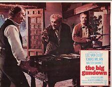 """Lee Van Cleef The Big Gundown Set Of 8 11x14"""" Lobby Cards  #M6432"""