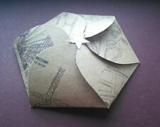 Handmade Harry Potter Embossed Marauder's Map Gift Envelope - Mischief Managed!