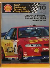 V8 Supercars Oran Park Official Race Program 1998 Very Good Condition