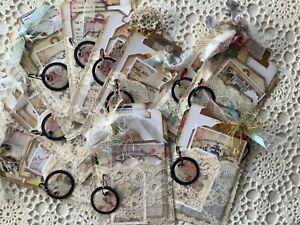 Loaded pocket junk journal Tags & Ephemera vintage shabby style A