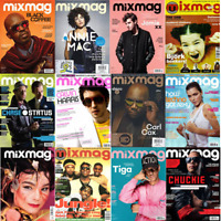 Magazine - MixMag Clubbing Dance Music Rave Full Contents Index Shown - Various