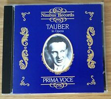 CD: RICHARD TAUBER In Opera - Prima Voce