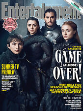 IL TRONO DI SPADE GAME OF THRONES ENTERTAINMENT WEEKLY COVER POSTER JON SNOW