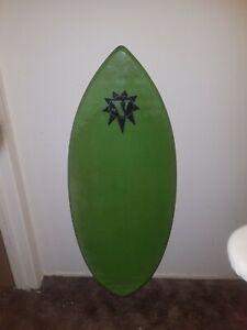 RARE Vintage Victoria 76 V 76V Skimboard Skim Board Wake Board Surfer Surf Ocean