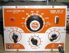 Rare Bliley Crystal Controlled Oscillator Model 1a Amplifier Tube Awa Sss 238