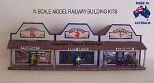 N Scale Country Pharmacy PO Hardware Model Railway Building Kit - NRCS2