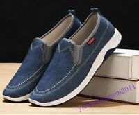 New Summer Mens Shoes slip  On Canvas Casual Low Top Sneakers Sport Loafers Hot