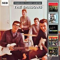 THE SHADOWS - TIMELESS CLASSIC ALBUMS (NEW SEALED 5CD)