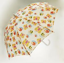 Children's Bug Umbrella with lady Bugs, Bees and Butterflies