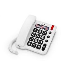 Telefono fijo con cable Telecom 3294B Teclas grandes manos libres persona mayor