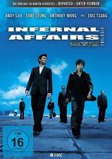 INTERNAL AFFAIRS TRILOGIE - LAU,ANDY/CHIU-WAI,TONY LEUNG/+  3 DVD NEU