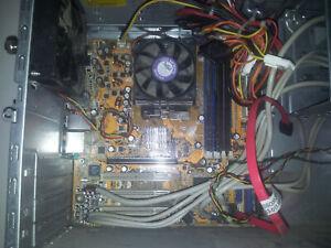 Compaq Presario sr2000 -Motherboard AMD Athlon 3500+ & 1GB Ram -No Hard drive.