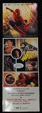 SPIDER-MAN Soundtrack orig 8x24 promo poster Chad Kroeger Nickelback Columbia