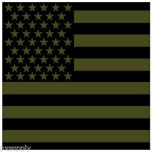 """bandana us usa flag 22"""" x 22"""" olive drab biker military USA cotton rothco 4073"""