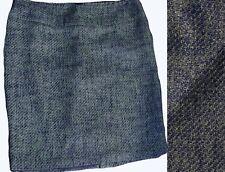 Lane Bryant Blue Tweed Skirt Lined sz 16 18 Career Wear