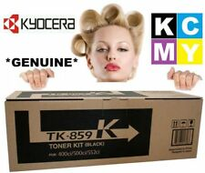 Kyocera GENUINE/ORIGINAL TK-859K Black Printer Cartridge Toner 859 K 400ci