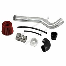 "CXRacing 3"" Air Intake Pipe + Filter For 89-97 Mazda Miata 1.6L Black Hose CAI"